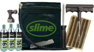 slime tyre repair kit opravna sada knotem co2 baleni