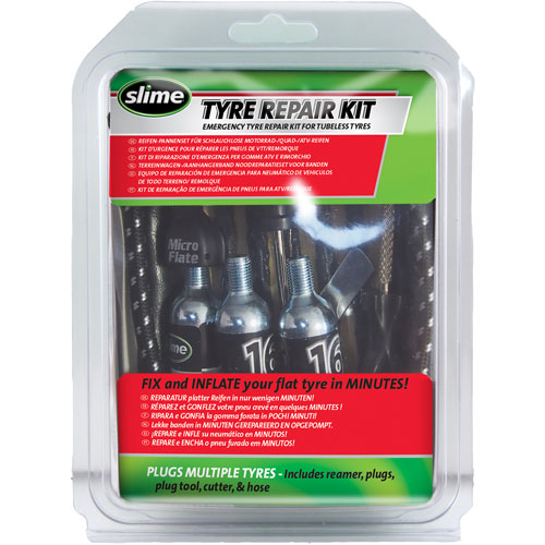 Slime Tyre Repair Kit – Opravná sada knotem s CO2