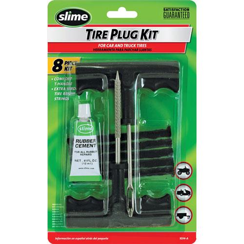 Slime Tyre Plug Kit – Opravná sada knotem